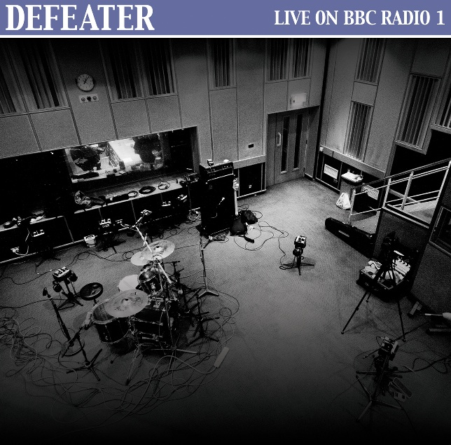 DEFEATER'S 'LIVE ON BBC RADIO 1' RELEASE COMING SOON FROM BRIDGE NINE RECORDS