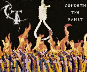 CT - Condemn The Rapist (Art Work)