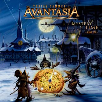 AVANTASIA_THE MYSTERY OF TIME ALBUM ARTWORK