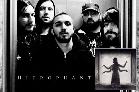 CHECK OUT THE NEW HIEROPHANT SONG, 'SON OF THE TONGUE'S PRISON', VIA HAILS & HORNS