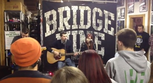 LIVE ALCOA VIDEO FROM BRIDGE NINE RECORDS OFFICE SHOW ONLINE NOW