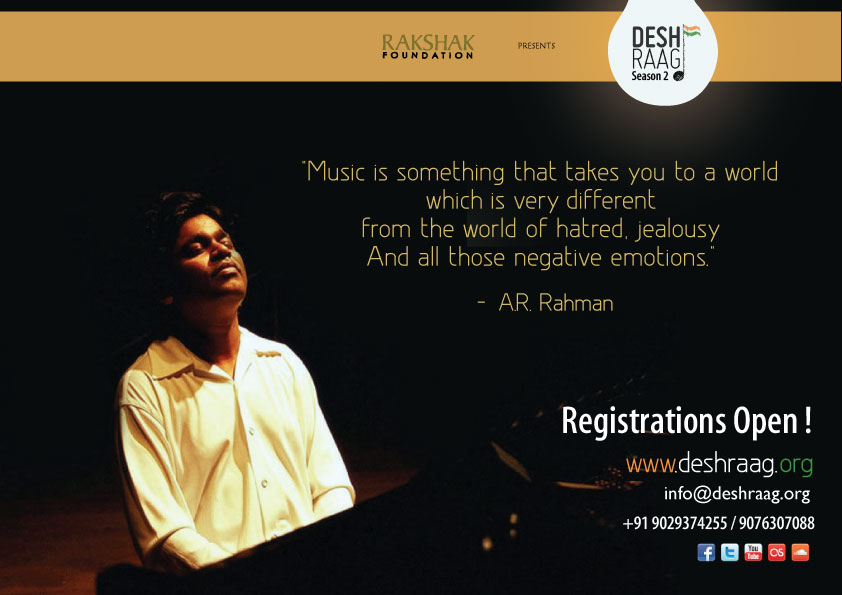 Desh Raag ! ONE NATION.ONE MUSIC.ONE LOVE