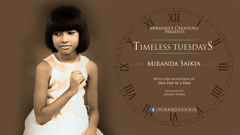 Thirteen year old prodigy Miranda Saikia launches new video campaign. One cover every week.