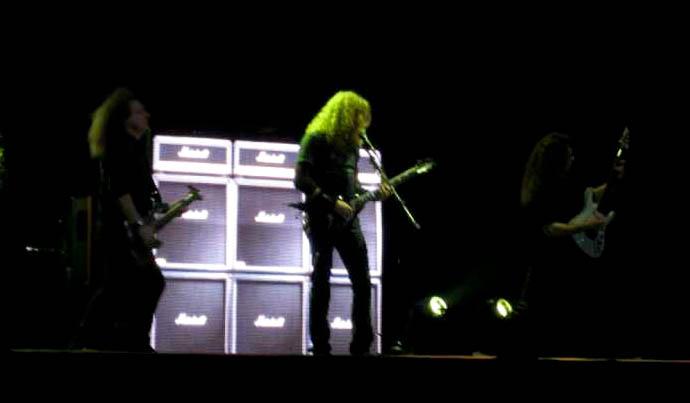 Megadeth Rocks F1 Circuit – 16th Feb 2014