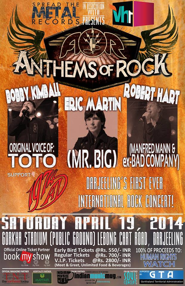 ANTHEMS OF ROCK – A Benefit Concert for Human Rights Watch