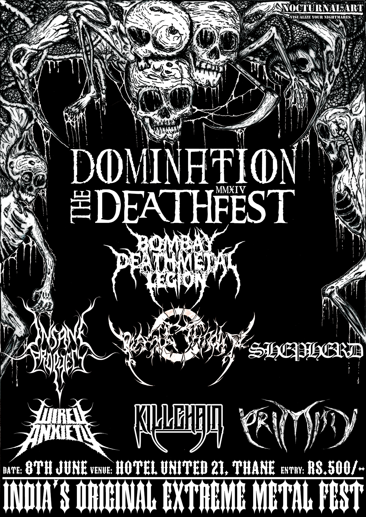Domination: The Deathfest returns for its 6th edition, across two cities