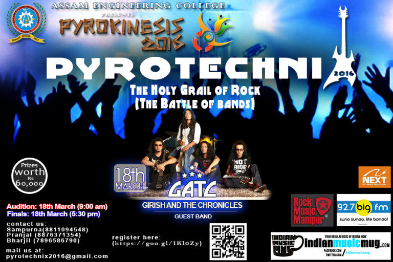 Pyrotechnix – Holy Grail of Rock (Battle of the Bands)