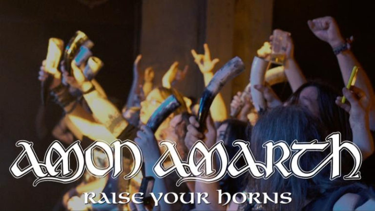 """AMON AMARTH Premieres """"Raise Your Horns"""" Video Via Rollingstone.com; Contest With Grimfrost Launched + US Tour With Megadeth, Suicidal Tendencies, Metal Church, And Butcher Babies To Commence Tomorrow"""