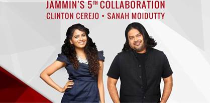 JAMMIN' STARS SANAH MOIDUTTY AND CLINTON CEREJO LAUNCH NEW TRACK