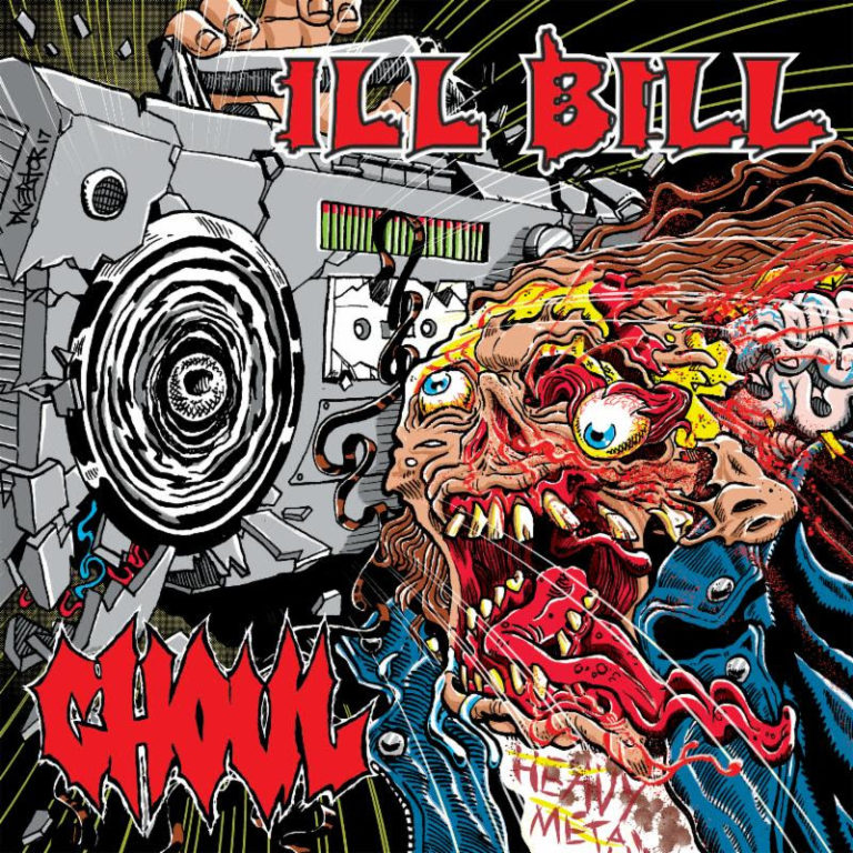 GHOUL And ILL BILL: Split Seven-Inch Out TODAY And Streaming Via Tankcrimes